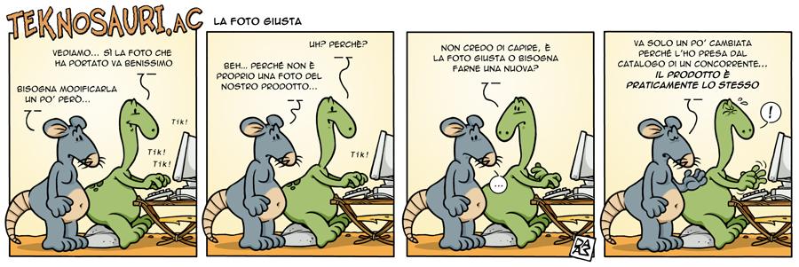 TeknoSauri.aC webstrip